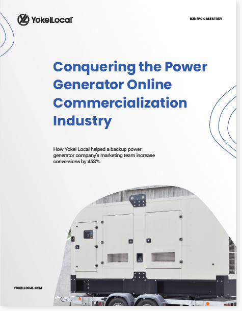 B2B Case Study: Conquering the Power Generator Online Commercialization Industry